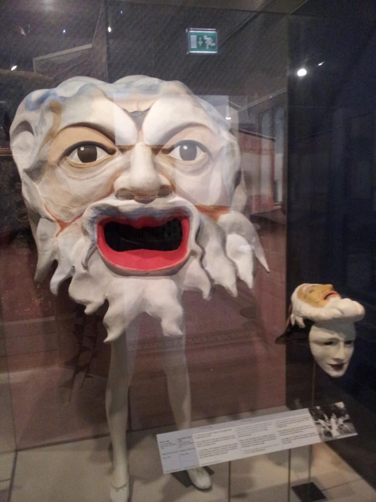 Brighton Museum carnival mask